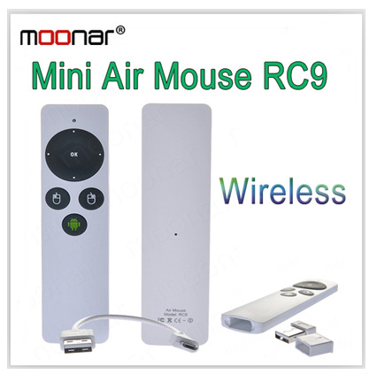 Free Shipping New Arrival RC9 2in1 Fly Air Mouse+HTPC/Game/IPTV/PC/TV BOX 2.4G Wireless Remote Control with USB Receiver DA0347(China (Mainland))