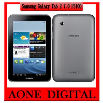 Original Samsung Galaxy Tab 2 7.0inch  P3100 3G Wifi Bluetooth Dual camera Dual-core Tablet PC Free Shipping