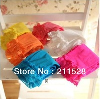 10pcs/lot baby girl velvet legging kids candy color lace leggings girl fashion summer tights cute dress socks 572001