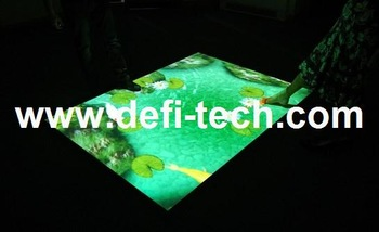 Magic floor Interactive software for interactive projection floor system. for Corporate Events