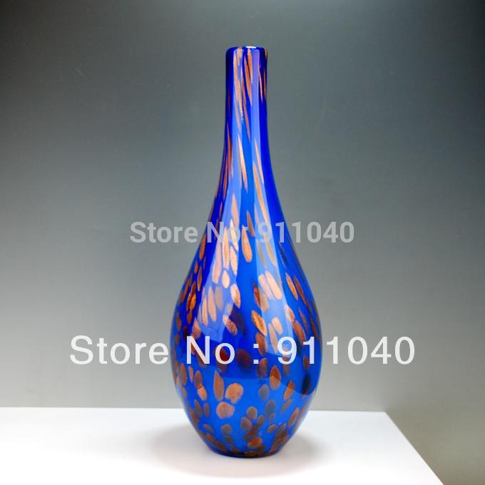 Antique Blue Glass Vases Antique Blue Colored Glass