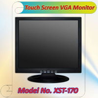 17 Inch LCD Touch Computer PC Monitor  For Computer with VGA USB price negotiable (XST-170-2)