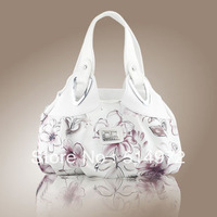 Best Selling!!New Western style dream flower series women handbag ink totes clutches Free Shipping