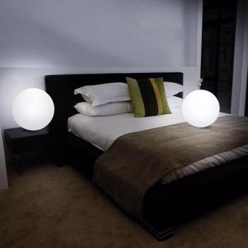 Led lamp eco-friendly light ball waterproof globe lamp remote control magic ball light electronic ball lamp