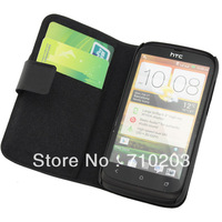 Flip Mobile Phone Case Leather Case For HTC T328W Desire V Desire X Free Shipping