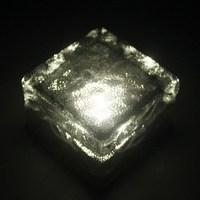 Solar Powered Crystal Ice Brick underground Buried Light Garden Path Lamp Warm White Free Shipping