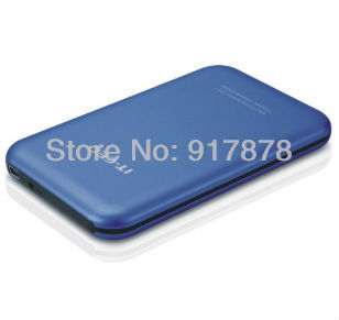Free shipping IT-CEO IT-700 Slim Interface 2.5 inch Sata Hard Disk Drive HDD Enclosure Case black silver blue whosales