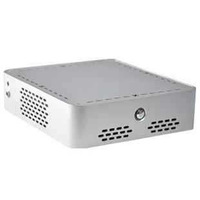 Mini-ITX Chassis for HTPC/IPC/Thin Client/Mini PC, A02 Sliver Gray,All Metal Aluminum material,195x195x60(mm)
