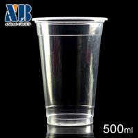 disposable teacups One-off high transparent juice 500 ml milk tea cup
