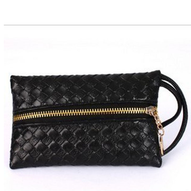 ON SALE! 1 piece/lot 2013 fashion vintage small knitted clutch evening female bags wallet mobile phone(China (Mainland))