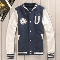 2013 male slim jacket male fashion men's clothing high quality outerwear baseball uniform male trend