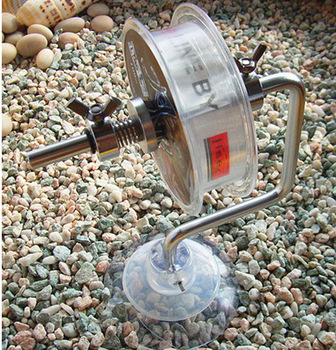 Fishing Line Reel Fishing Line Reel Spool Spooler System Tackle Silver Aluminum Exclusive Design whole sale /Drop shopping
