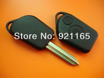 citroen Elysee 2 Button Remote Key shell (No logo)
