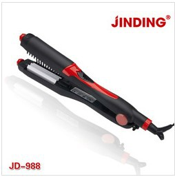 2013 free shipping straightener hair iron Professional 4in1 Hair Straightener And Curling Iron suit for European standard plug(China (Mainland))