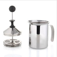 1PC Stainless Steel Milk Foamer for coffee maker pot percolator tool