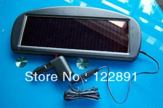 8.5 Вт 12 В солнечное зарядное устройство для мобильного телефона / мобильного зарядное устройство солнечное зарядное устройство автомобиля 12 В зарядное устройство высокое качество