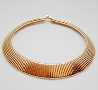 wholesale 18 gold plated punk choker necklace,fashion Girl/lady's novelty short jewelry