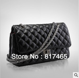 2013 Black Classical Vintage Bag for Lady Messenger Name Brand Designer Handbag Cheap Price High Quality Hot Selling Purse Bag(China (Mainland))