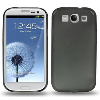 0.3mm Ultra-thin TPU Case for Samsung Galaxy SIII / i9300, Transparent version / Matte Edition