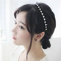 Sheegior Fashion unique Shiny rhinestone women headbands wedding hair accessories Free shipping !
