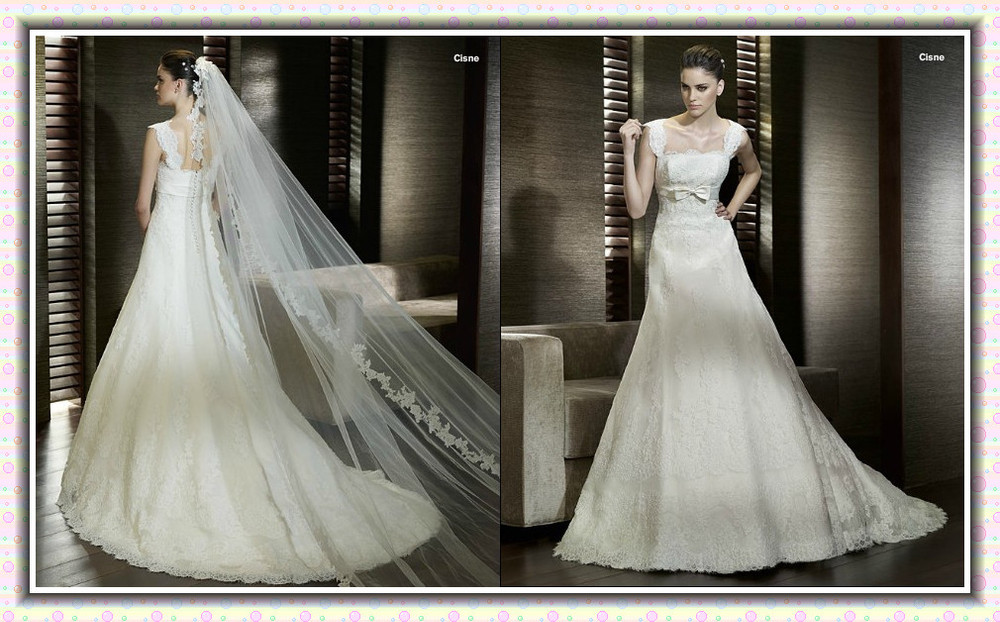 Hote saleFashion Fashion Wedding gown A Line Sweetheart Hi-Lo Monarch/Royal Applique Chiffon Standard code Evening Dresses(China (Mainland))