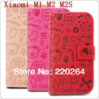 Freeshipping Guaranteed 100% original Millet m1 s m2 mobile phone case leather case slammed holsteins protective case shellCASE