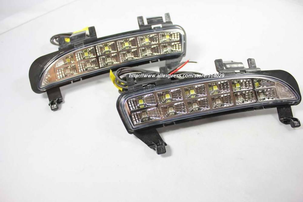 Система освещения Ford Edge LED DRL 2011 EMS DHL send ems ups dhl 98