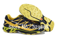 Free Shipping China post air 2013 New Arrival Salomon Running shoes Men Sport Running Shoes Mens Sneakers With Box 40-45