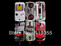1pcs Game Player & Tape & Radio & London view & Dollar Hard Back Case Cover For Samsung Galaxy Nexus i9250, Freeshipping