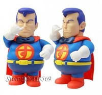 Free shipping funny Arale Dr plumb superman doll,dig booger superman