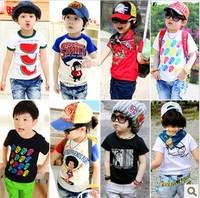 Children Baby Boys Girls short-sleeved T-shirt vest cute