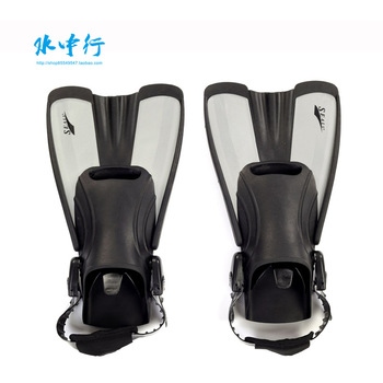 2013 Hot Free shipping! Latent silicone adult children diving fins flippers snorkeling swim flippers