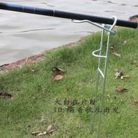 Metal simple dual-use mount pole frame portable mount lengthen type