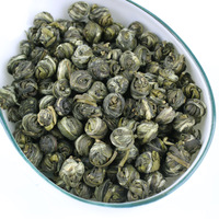 Free Shipping 2013 Spring Jasmine Flower Tea Jasmine Pearl Green Tea Good for Health Tea 50g