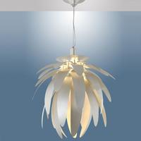 Dragon fruit white/silver 38cm E27 fashion bedroom lamp dining room pendant light fixture driplight wrought iron free shipping