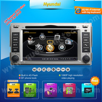 3G 7'' Hyundai SantaFe Car DVD Player,AutoRadio,GPS,Navi,Multimedia,Radio,Ipod,DVR,Free camera+Free shipping+Free map