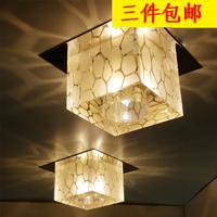 1pc Modern 3W LED Cube crystal ceiling Light lamp aisle corridor lights living room decorative foyer lights X996