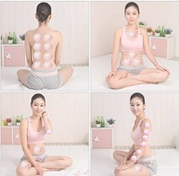 8 Piece Cupping Glass Silicone Vacuum Cup Anti Cellulite Massage Traditional Chinese Medical Product As Yoga Free Shipping