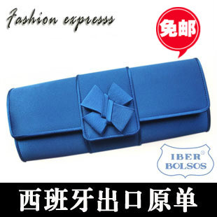 Unique cross flower bag evening bag fashion elegant chain day clutch all-match women's handbag Women small bags(China (Mainland))