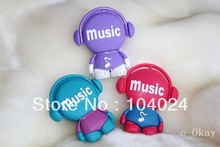 Fast ship 4gb 8gb 16gb 32gb purple blue red music boy guy USB 2.0 flash drive memory pen disk