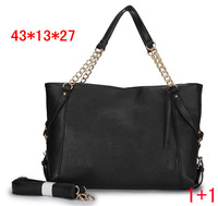 Free shipping Female bags fashion plaid shoulder bag work bag handbag 2013 leather bags