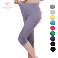 Maternity clothing summer maternity summer legging plus size maternity pants female thin free shipping