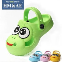 2013 big eyes kids baby child slippers sandals male female child jelly beach shoes Mules hole garden shoes