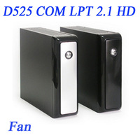 Mini PC ITX with Atom dual-core D525 and 12V DC LPT 2.1 HD IN-D5C