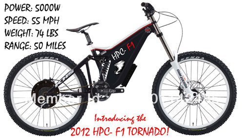 "HPC F1 TORNADO ELECTRIC 26"" BIKE BICYCLE - 5000W POWER SYSTEM & 21"" FRAME(China (Mainland))"