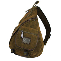 Free shipping Henry canvas chest pack bag multifunctional single shoulder bag big outdoor backpack ride bag sports bag