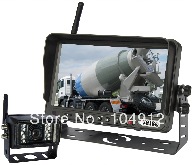 7 INCH WIRELESS REAR VIEW, REVERSE BACKUP CAMERA SYSTEM(China (Mainland))