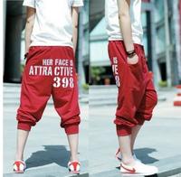 Hot sale 2013 summer new Korean Men's sports short pant casual fashion hip hop trousers slacks Men's free shipping