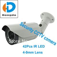 "New outer casing 1/3"" Sony CCD effio 700tvl 600tvl 540tvl optional 4-9mm varifocal lens 42pcs IR led 40M Security CCTV Camera"