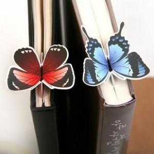 40pcs/lot Free Shipping Promotion Creative Butterfly Bookmarks Wholesale LI13052301(China (Mainland))